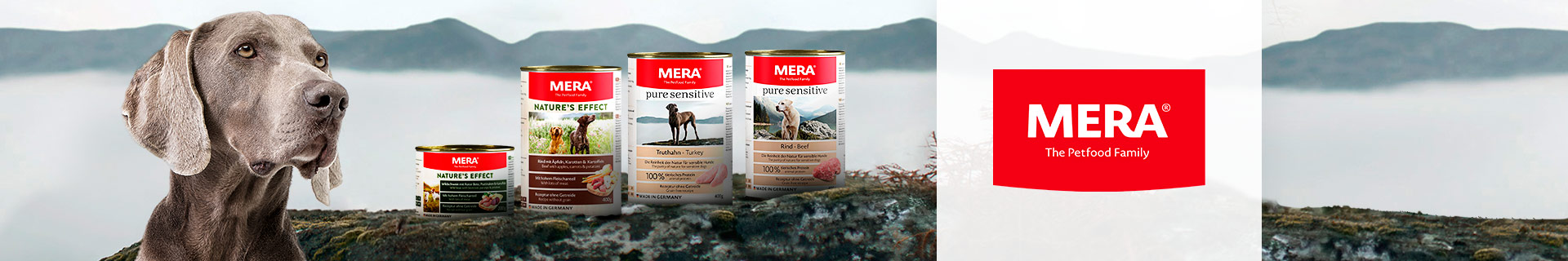 Markenshop - Mera -Nassfutter - Hund