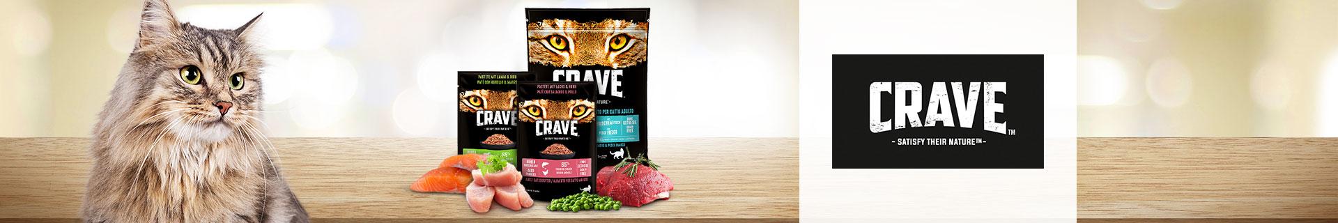 Crave Markenshop Katze