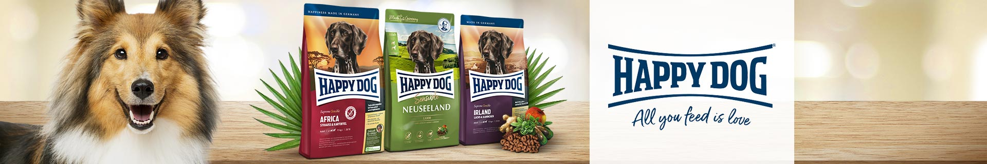HappyDog Trockenfutter SupremeSensible