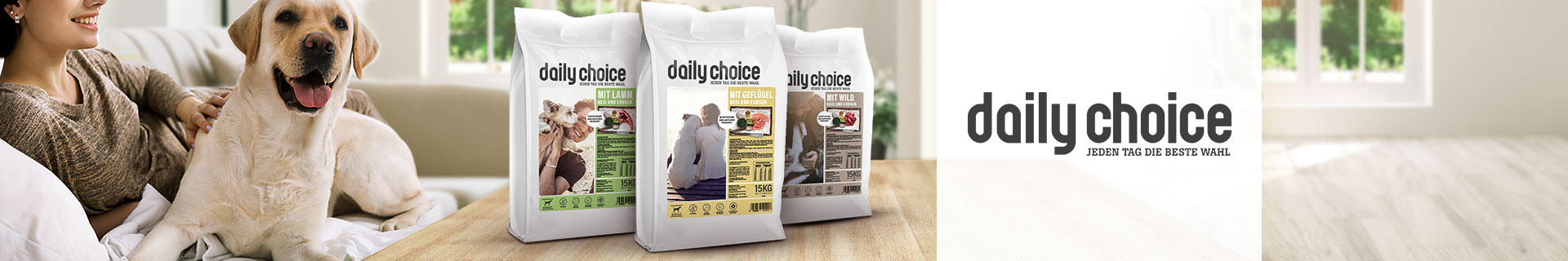 daily choice Trockenfutter basic