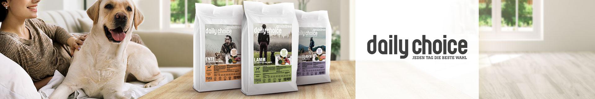 daily choice Trockenfutter grainfree