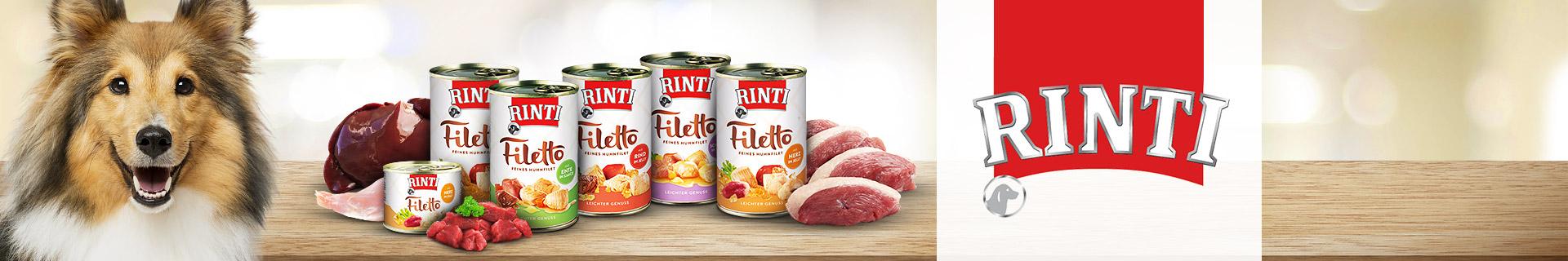 Rinti Hund Nassfutter Filetto
