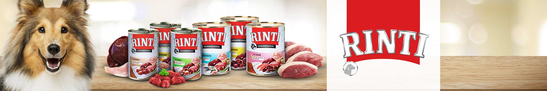Rinti Hund Nassfutter Kennerfleisch