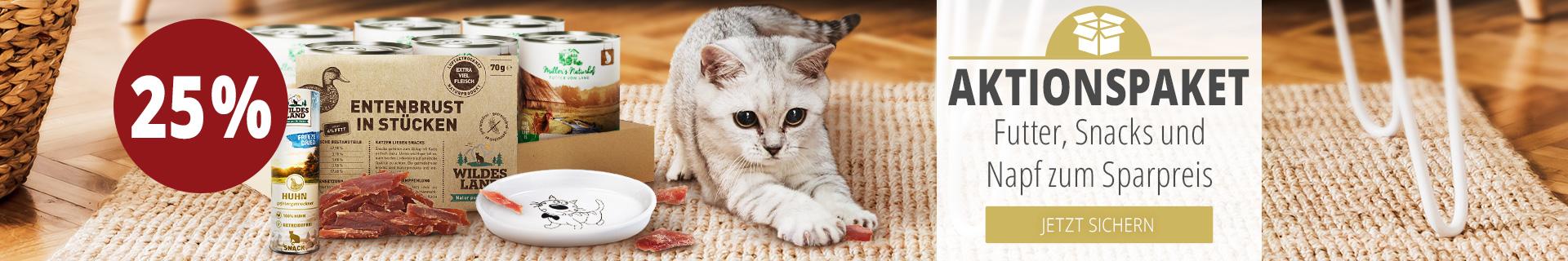 Advents Aktion - Sparpaket für Katzen