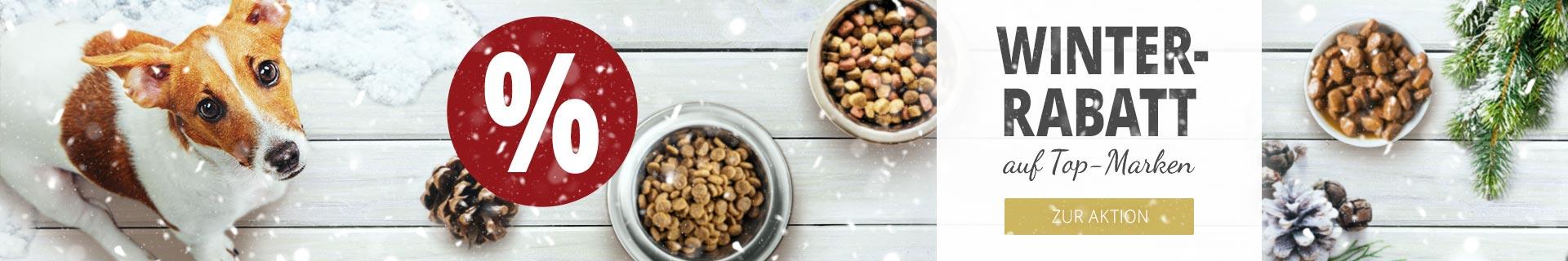Hundefutter Rabattaktion auf Top-Marken