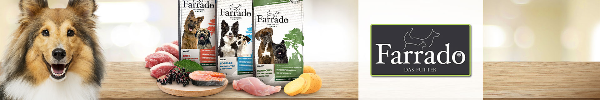 Farrado Trockenfutter Hund