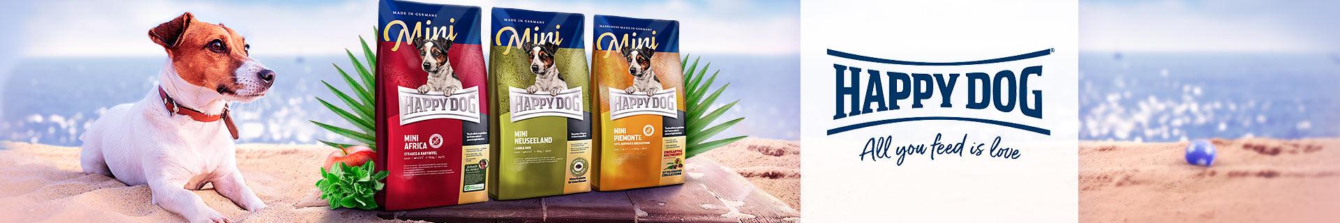 Happy Dog Trockenfutter Supreme Mini