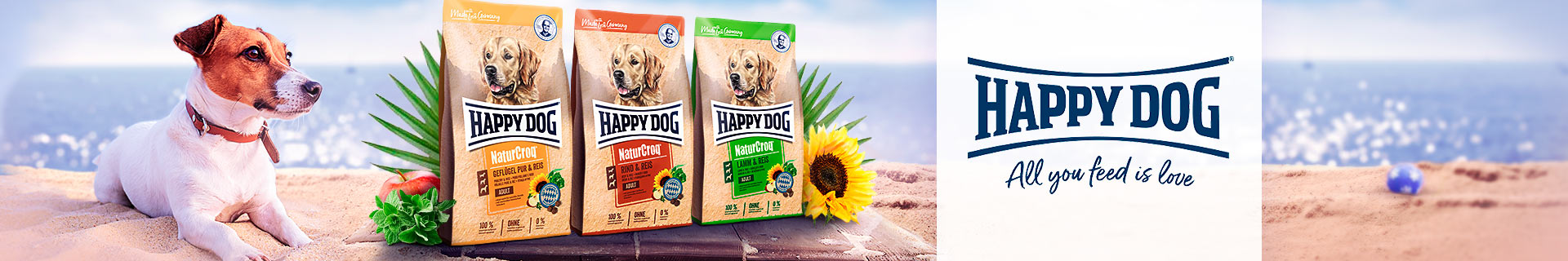 Happy Dog Trockenfutter NaturCroq
