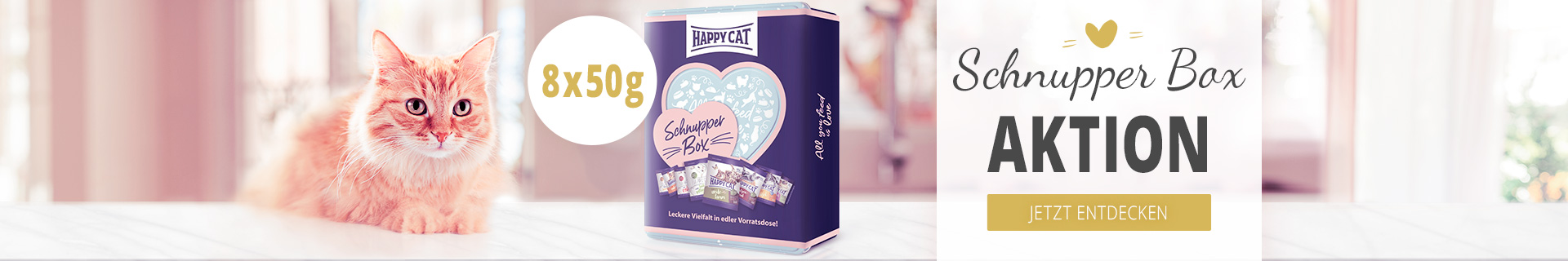 Happy Cat - Schnupperbox