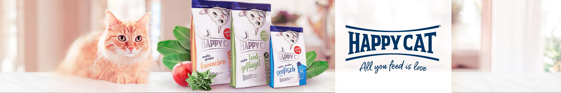 HappyCat Trockenfutter Sensitive