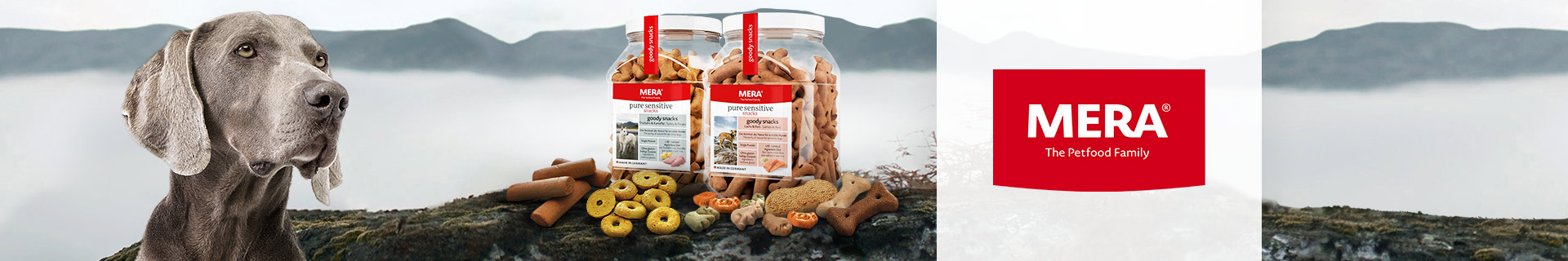 Markenshop - Mera - Snacks - Hund