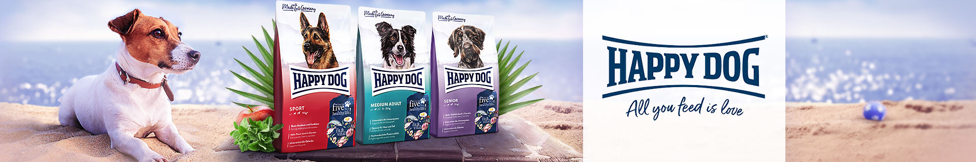 Happy Dog Trockenfutter Fit & Vital