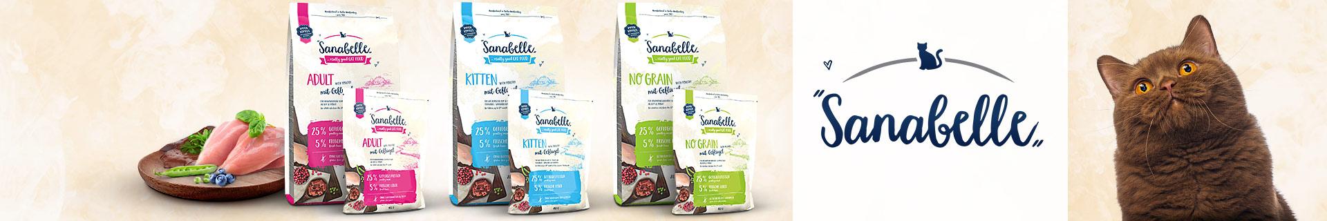 Sanabelle - Markenshop - Trockenfutter - Original