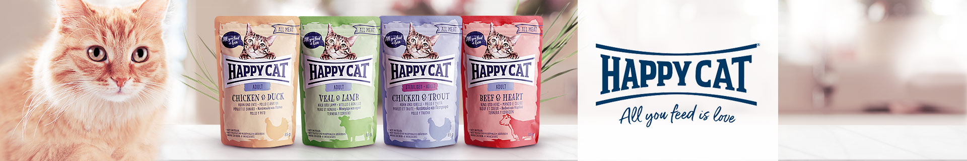 Happy Cat Nassfutter All Meat