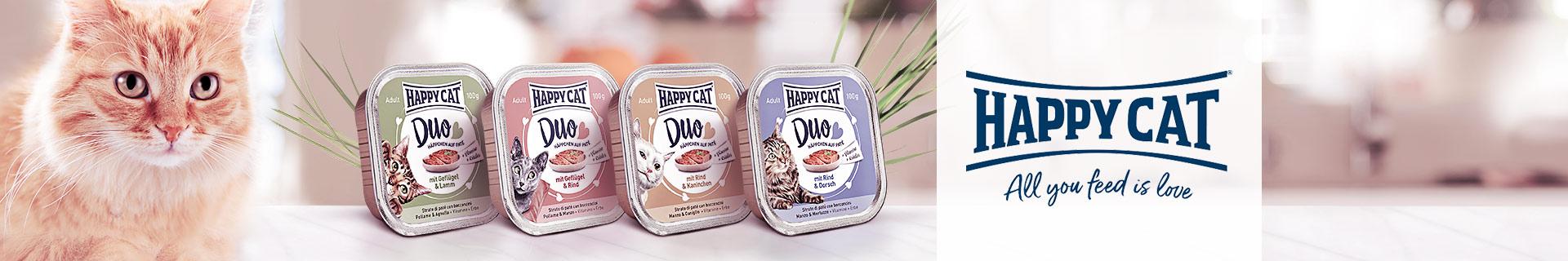 Happy Cat Nassfutter Duo