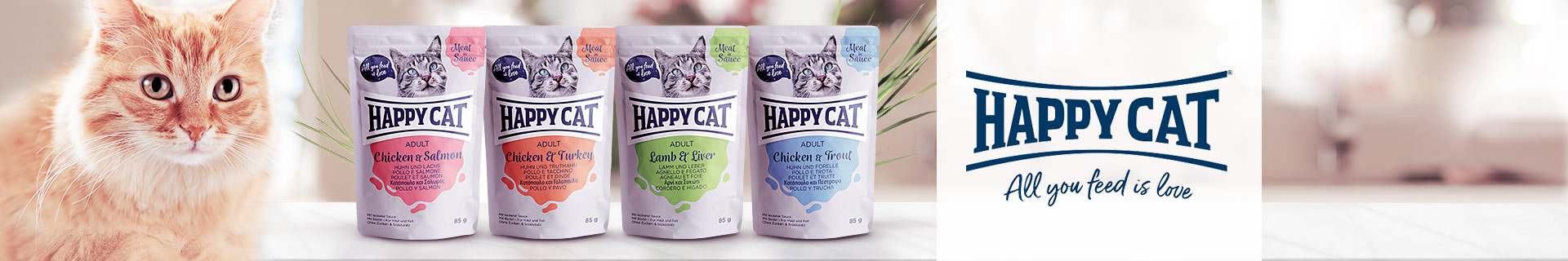 Happy Cat Nassfutter Meat in Sauce