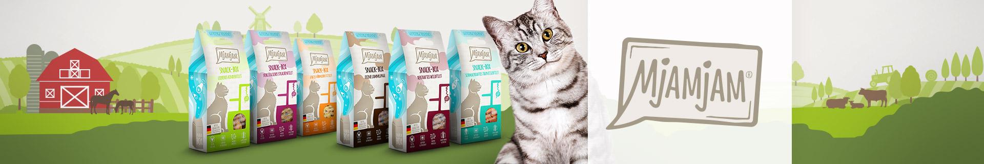 Mjamjam Katze Snacks