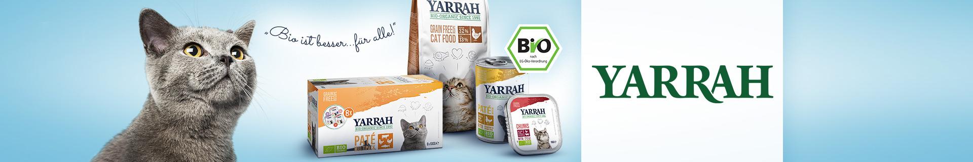 Yarrah Bio Katzenfutter bei pets Premium