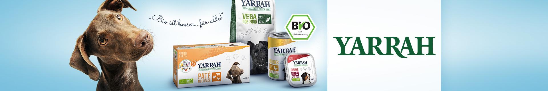 Yarrah Bio Hundefutter bei pets Premium