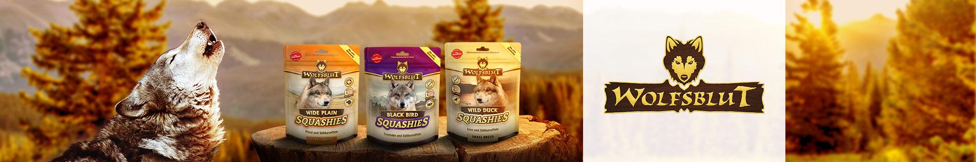 Wolfsblut Snacks Squashies