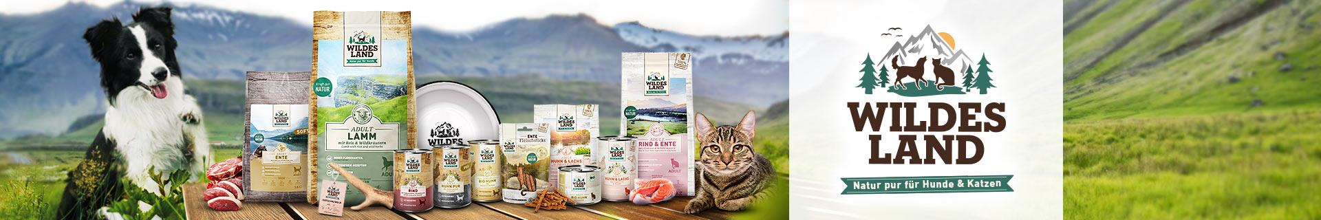 Wildes Land Hundefutter und Katzenfutter