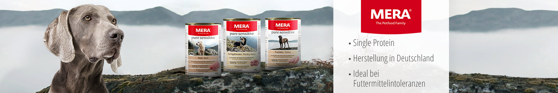 Mera Hund Nassfutter Pure Sensitive