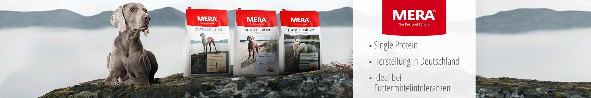 Mera Hund Trockenfutter Pure Sensitive