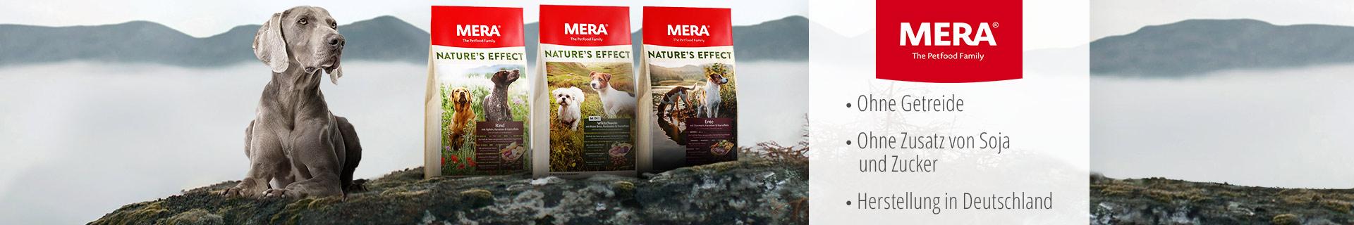Mera Hund Trockenfutter Nature's Effect
